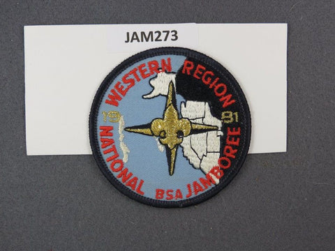 1981 National Scout Jamboree Western Region Black Border [JAM273]^^