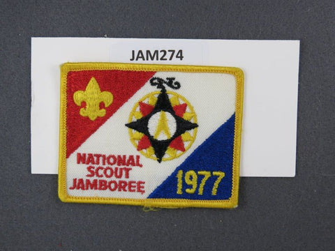 1977 National Scout Jamboree Yellow Border