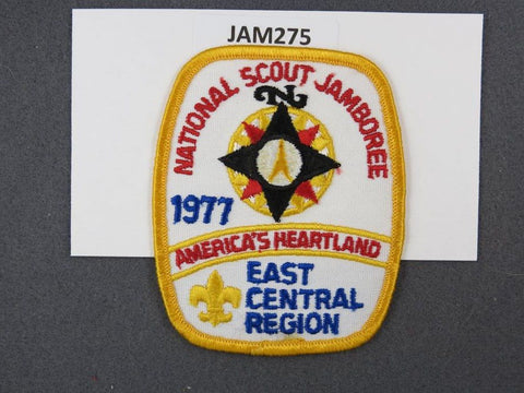 1977 National Scout Jamboree East Central Region Yellow Border [JAM275]^^