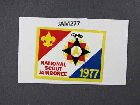 1977 National Scout Jamboree Sticker [JAM277]^^