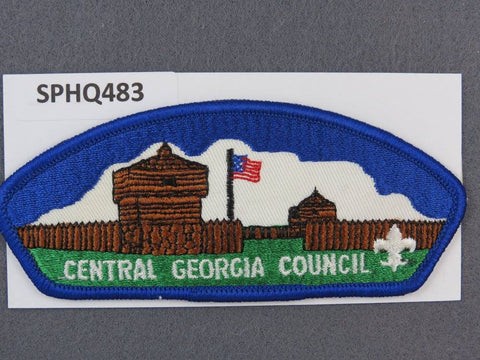 Central Georgia  CSP Blue Border [SPHQ483]##