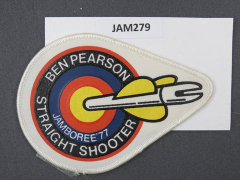 1977 National Scout Jamboree Straight Shooter White Border [JAM279]^^