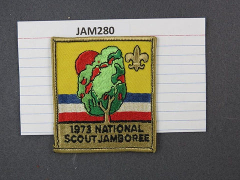 1973 National Scout Jamboree Gold Border