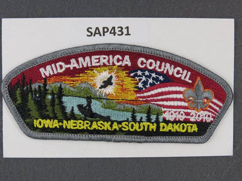 Mid-America Council CSP 2010 BSA 100th Anniversary