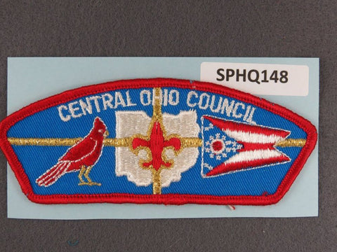 Central Ohio Council CSP Red Border