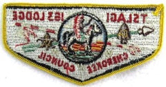 OA Lodge 163 Tslagi S5b Flap Yellow Border [E10099]