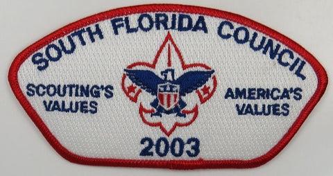 South Florida Council 084 Miami Lakes, FL Red bdr CSP MINT [B2618]
