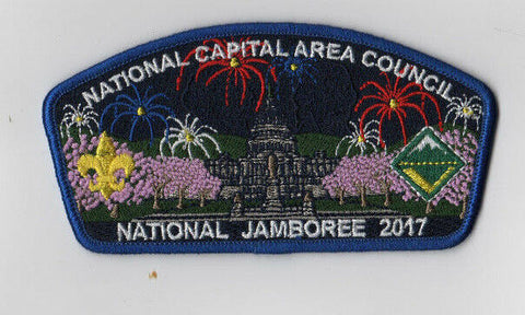 2017 National Scout Jamboree National Capital Area Council Blue Bdr JSP [NJ783]