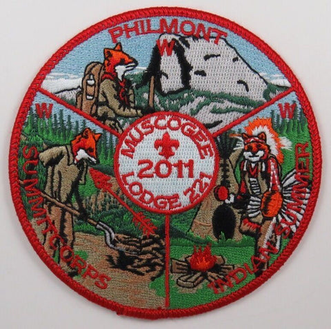 OA Lodge 221 Muscogee 2011 Summer Events Patch [T167]