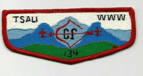 OA Lodge 134 Tsali S9 Flap Daniel Boone Council NC [SMV287]