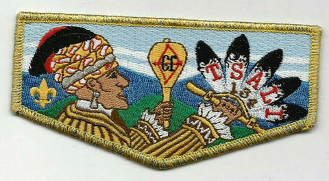 OA Lodge 134 Tsali S53 Flap Daniel Boone Council NC [SMV307]