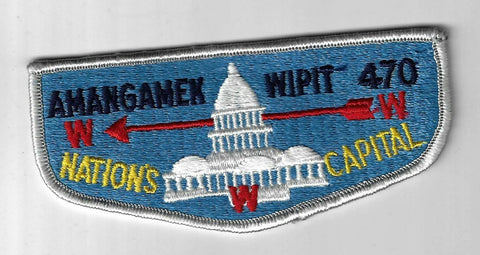 OA 470 Amangamek-Wipit Pre-fdl cb Flap LGY Bdr. National Capital Area MD [FBL-12
