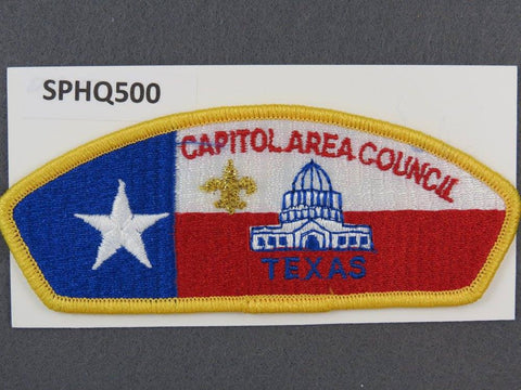 Capitol Area  Texas CSP Gold Border [SPHQ500]##