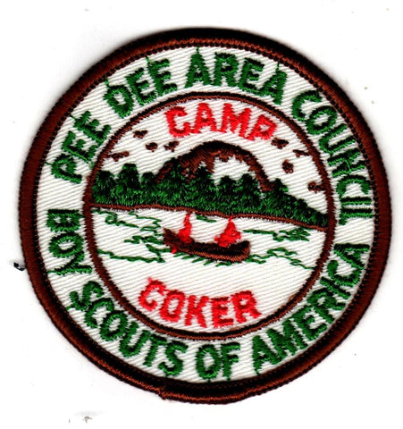 1962-1963 Camp Coker Brown and Green with Brown Border [CC388]