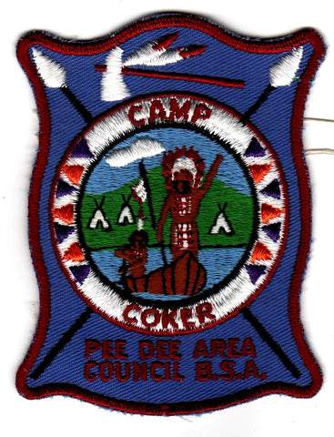 1964-1968 Camp Coker Bear Rug [CC386]