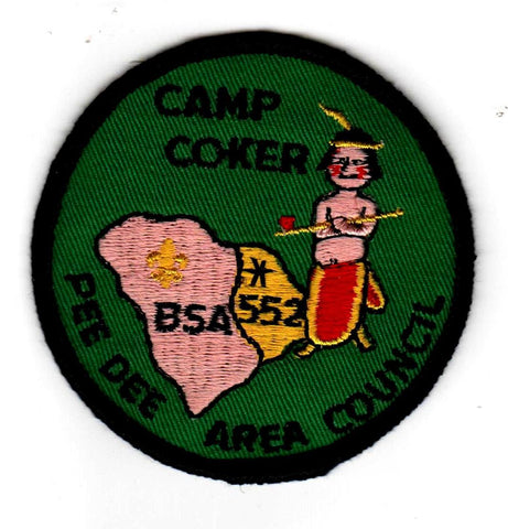 1974 Camp Coker Pudgy Indian [CC392]