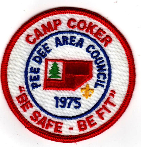 1975 Camp Coker Be Safe Be Fit [CC393]