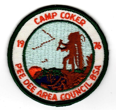 1976 Camp Coker Standing Chief [CC394]