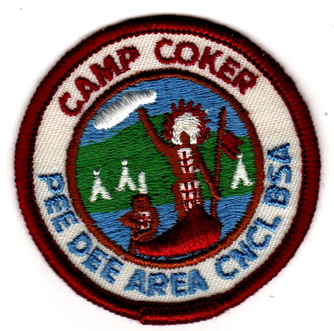 1977 Camp Coker Standing Indian [CC398]