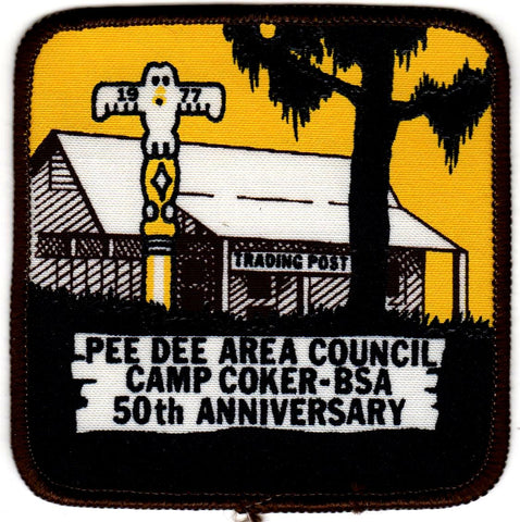 1978 Camp Coker 50th Anniversary (totem pole says 1977 by mistake) [CC399]