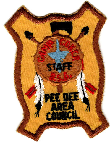 1979 Camp Coker Staff Bear Rug (1st True Staff Patch) [CC401]