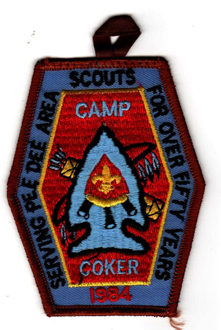 1984 Camp Coker Camper Brown Border [CC410]