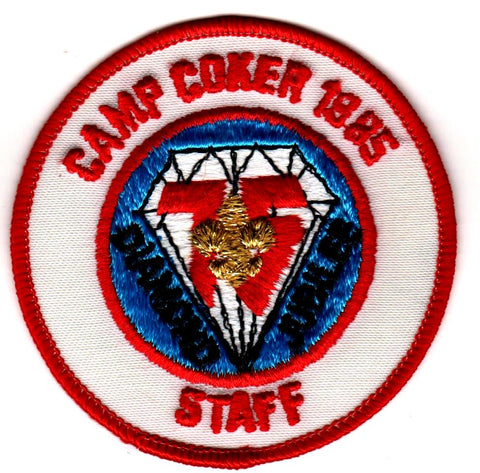 1985 Camp Coker Staff Diamond Jubilee [CC414]