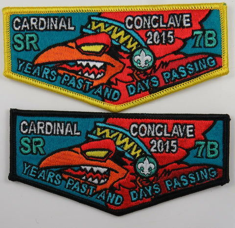 2015 Cardinal Conclave Mighty Cardinal Section Issued 2 - Flap Set [T117]