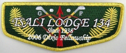 OA Lodge 134 Tsali S55 Flap 2006 Dixie Fellowship FLAP GMY BDR [A10078]