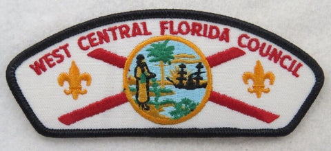 West Central Florida Council 089 Seminole, FL T-1 ($4-5) variation strip [B2782]