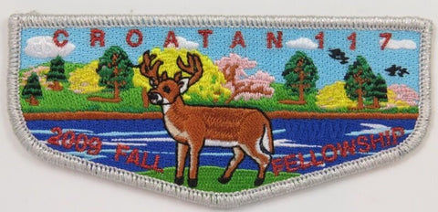 OA Lodge 117 Croatan eS2009-3 patch; 2009 Fall Fellowship  [D1863]