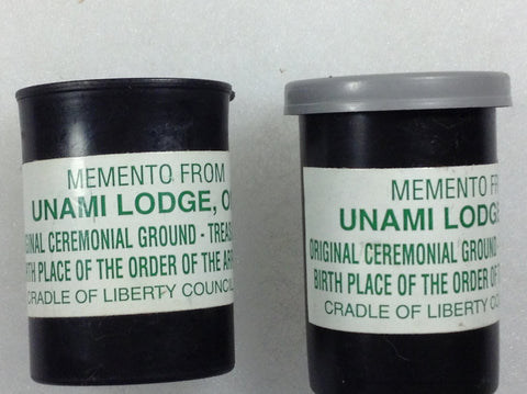 Unami Lodge 1 Original Ceremonial Ground from Treasure Island Pair of 2 [IL445]