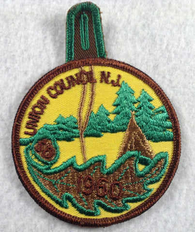 1960 Union  Twill Patch with loop [FLA141]