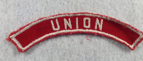 UNION Red and White Community Strip RWS (sewn)