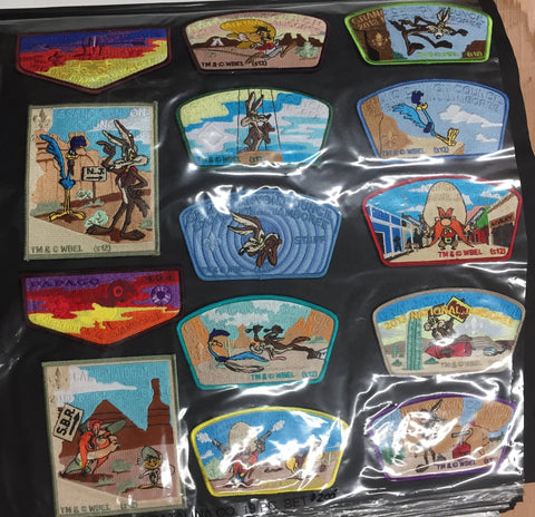 2013 National Jamboree 14 Piece Set Grand Canyon Council Looney Tunes [JAMBO]