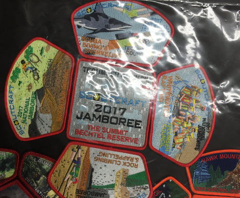2013 National Jamboree 5 Piece Tecumseh Council Set Mine Craft [JAMBO]