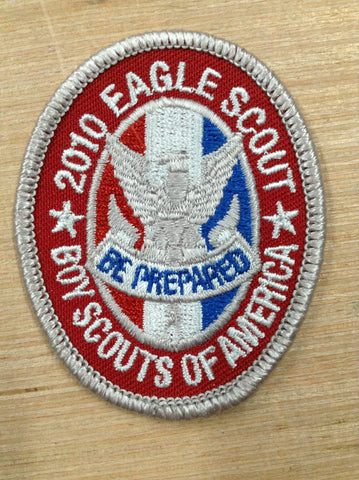 2010 BSA Centennial Eagle Scout Rank Patch Official [JAMBO]