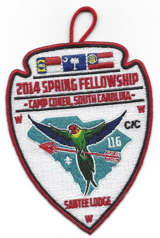 OA 116 Santee Lodge 2014 Spring Fellowship Camp Coker [PD242]
