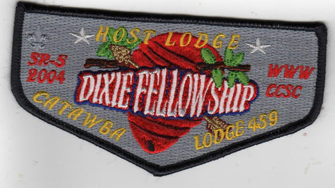 OA 2004 Dixie Fellowship Host Flap 459 Catawba Mecklenburg Charlotte, NC [GM299]