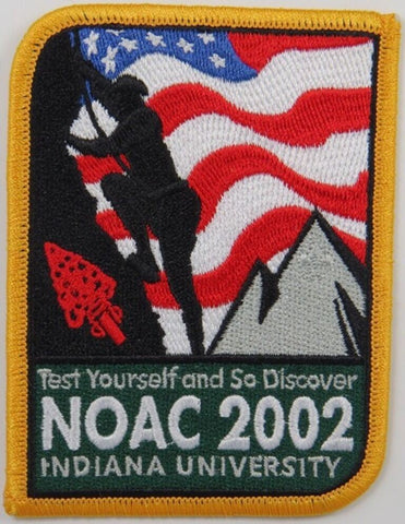 2002 National OA Conference NOAC Patch [S201]