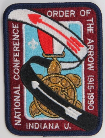1990 National OA Conference (NOAC) Patch [S157]