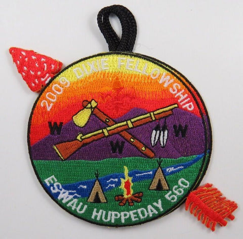 2009 Dixie Fellowship Eswau Huppeday 560 Host Delegate Patch [T153]