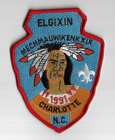1991 Etowah District Elgixin Mechmauwikenk XIX Mecklenburg County  RED Bdr. [GM-