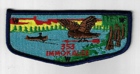 OA 353 Imokalee S1 First Flap Southwest Georgia Albany, GA [CD1308]