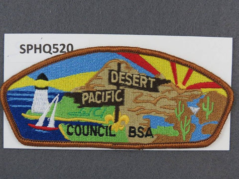 Desert Pacific Council CSP Brown Border - Scout Patch HQ