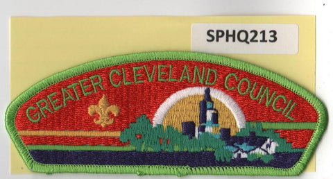 Greater Cleveland  Ohio CSP Green Border [SPHQ213]##