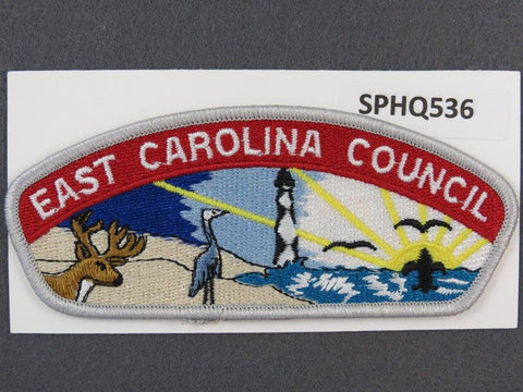 East Carolina Council CSP White Border - Scout Patch HQ