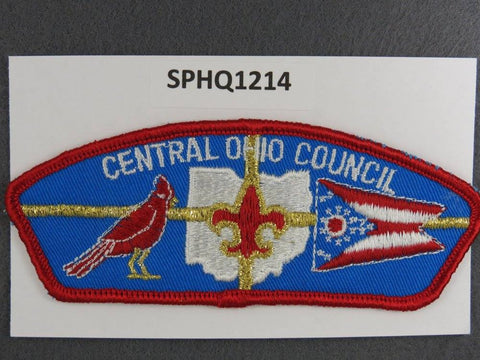 Central Ohio  CSP Red Border [SPHQ1214]##