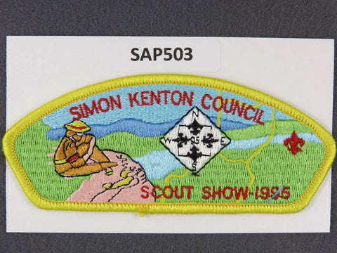 Simon Kenton  CSP 1995 Scout Night Yellow Border [SAP503]>>