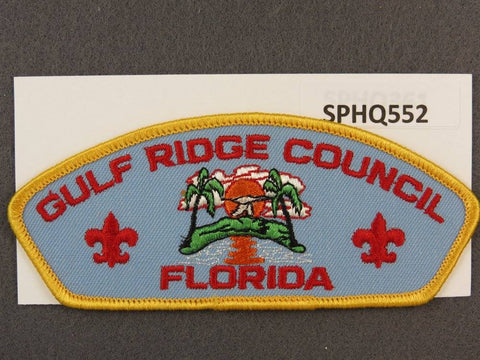 Gulf Ridge Council Florida CSP Yellow Border